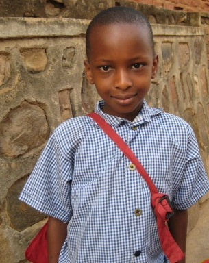 hi from kids in rwanda